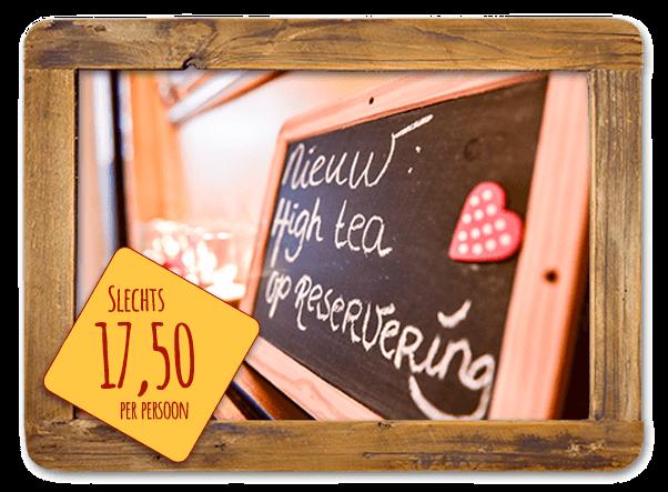 High Tea bij Bolletje winkel